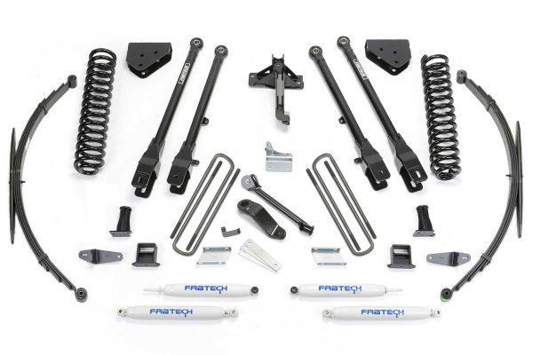 """Fabtech® 8"""" Suspension Lift Kit, 4 Link, 08-16 Super Duty"""