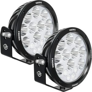 Vision X® ADV LED Light Cannons Pair w/ Backlit Halo