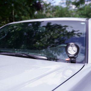 """Vision X® LED 3.7"""" CG2 Cannons A-Pillar Light Kit, 16+ Tacoma"""