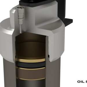 "TeraFlex® Falcon 1.5-2.5"" Lift Shocks Kit 07-18 Wrangler JK 4-Door"