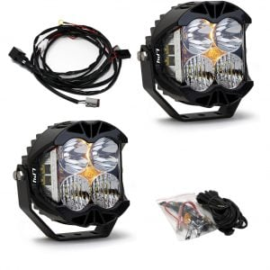 Baja Designs® LP4 Pro LED Driving/Combo Clear Lens Pair
