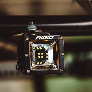 """Rigid® 68202 Radiance Scene Red Backlight 3"""" LED Light Pods (Pair)"""