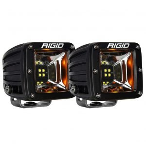 "Rigid® 68204 Radiance Scene Amber Backlight 3"" LED Light Pods (Pair)"