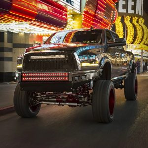Rigid Industries® Radiance+ 30 inch LED Light Bar (Red Backlight) with Harness