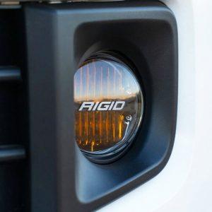 Rigid Industries® 360-Series SAE Fog Light Kit (Yellow) Tacoma Tundra 4Runner