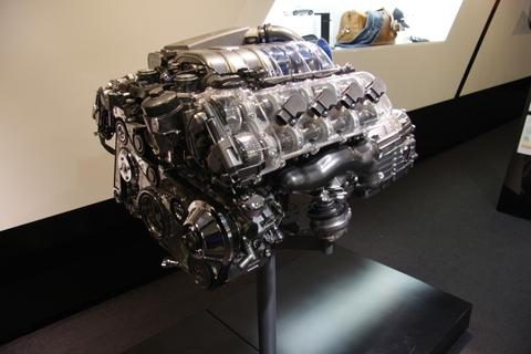 engine tuner on display