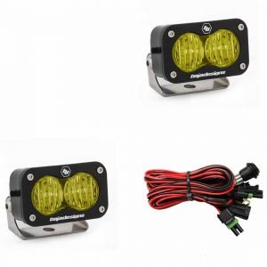 Baja Designs® S2 Pro™ LED Lights Pair Amber Wide Cornering