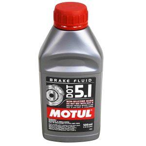 Motul® DOT 5.1 Motor Vehicle Brake Fluid Fully Synthetic 500ml / 0.5L