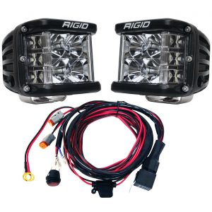 Rigid Industries® D-SS Pro Flood LED Light Pods Pair with Harness