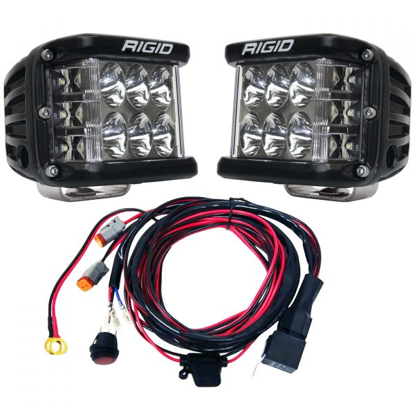 Rigid Industries® D-SS Pro Driving LED Light Pods Pair with Harness