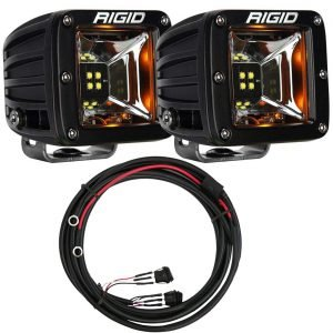 "Rigid® Radiance Pod Scene 3"" LED Light Pods (Amber Backlight) w/Harness"
