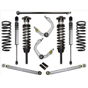 "ICON® 0""-3.5"" Stage 3 Suspension Lift Kit Billet 10-UP GX460"