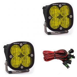 Baja Designs® Squadron Sport™ LED Amber Pair Wide Cornering Light Kit