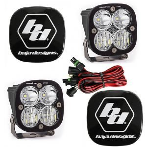Baja Designs® Squadron Pro™ LED Pair Driving/Combo Light Kit & Rock Guards