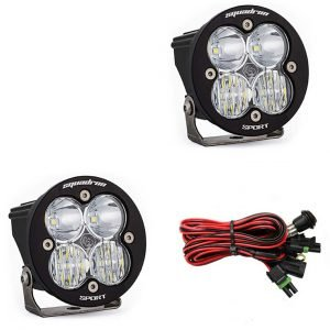Baja Designs® Squadron-R Sport™ Pair Driving Combo Clear LED Lights