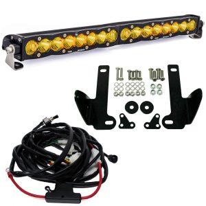 "Baja Designs® S8™ 20"" Lower Bumper LED Amber Light Kit 10-14 Ford Raptor"