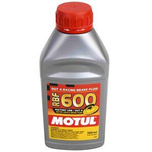 Motul® 100949 Fully Synthetic RBF 600 DOT 4  Brake Fluid 500ml / 0.5L