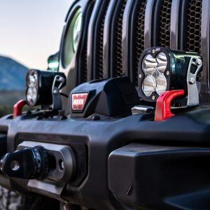 Baja Designs® LP4 Pro LED Light Kit Jeep JL/JT Rubicon Bumper (Toggle Switch)