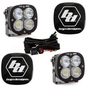 Baja Designs® XL80™ LED Lights Pair Driving/Combo & Rock Guards Kit