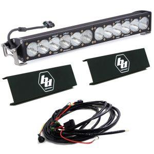 "Baja Designs® OnX6+™ 20"" Driving/Combo LED Light Bar w/Harness & Rock Guards"