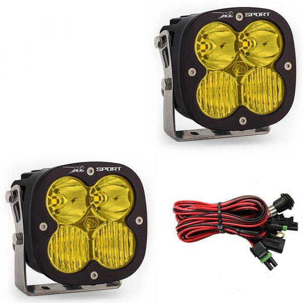 Baja Designs® XL Sport Driving/Combo Amber LED Lights Pair
