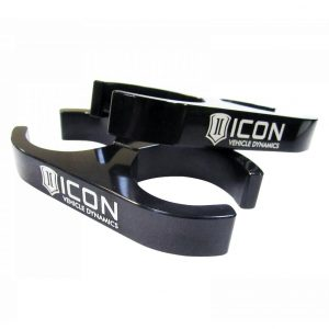 ICON® 2.0 Aluminum Series Shock Reservoir Billet Clamp Kit