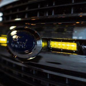 """Rigid Industries® SR-Series 6"""" Fog Lights Amber LED Bars (Pair)"""